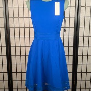 Calvin Klein dress blue size 4 sleeveless